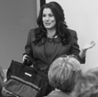 Lisa Voso teaching a customized communications training class